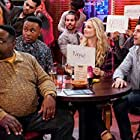 Cedric the Entertainer, Max Greenfield, Beth Behrs, and Marcel Spears in Welcome to Trivia Night (2020)