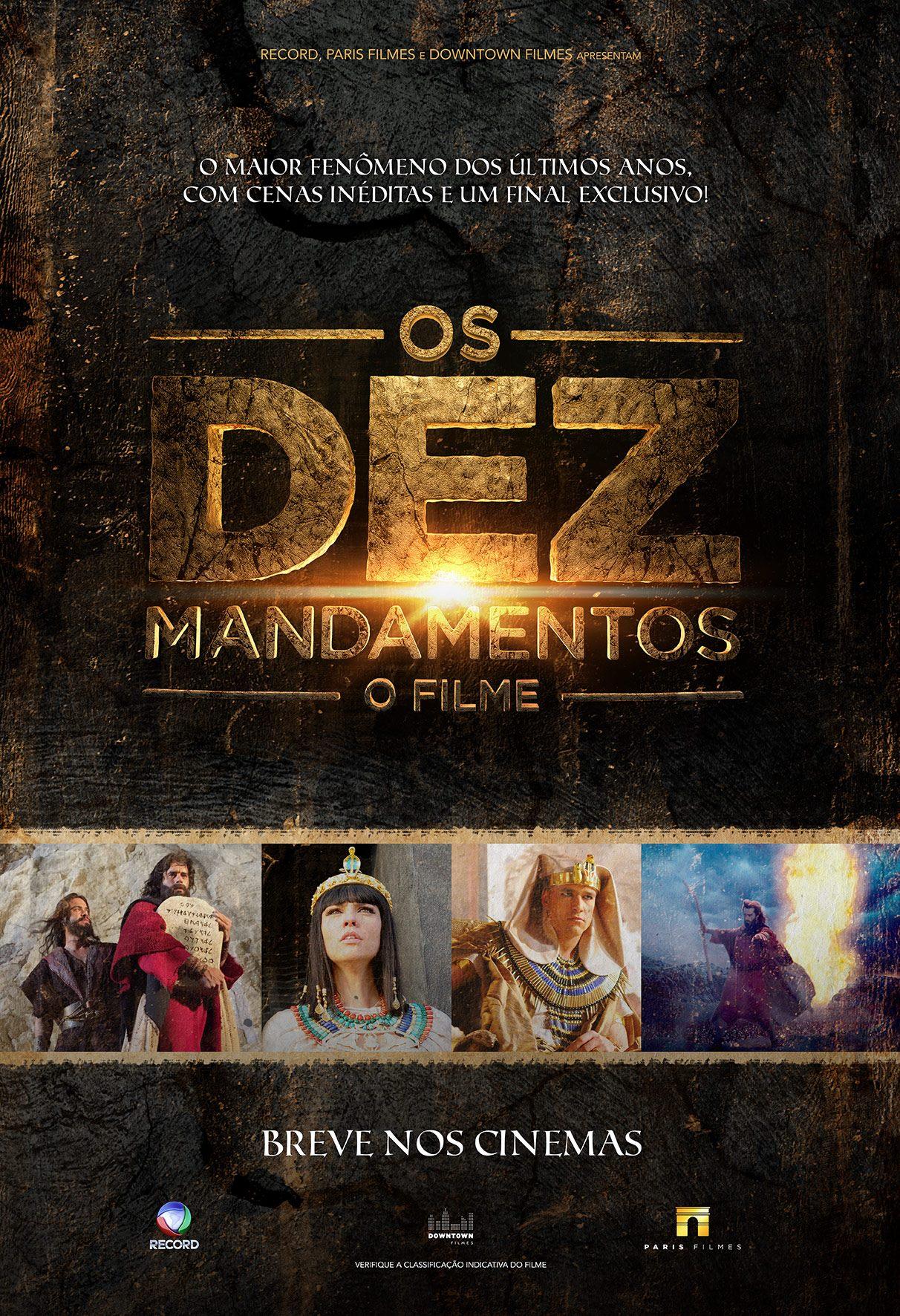 Sergio Marone in Os Dez Mandamentos: O Filme (2016)