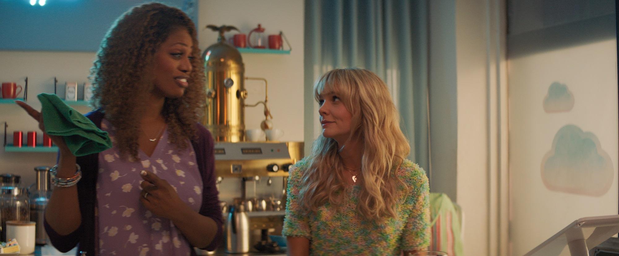 Laverne Cox and Carey Mulligan in Croatia with Love (2020)