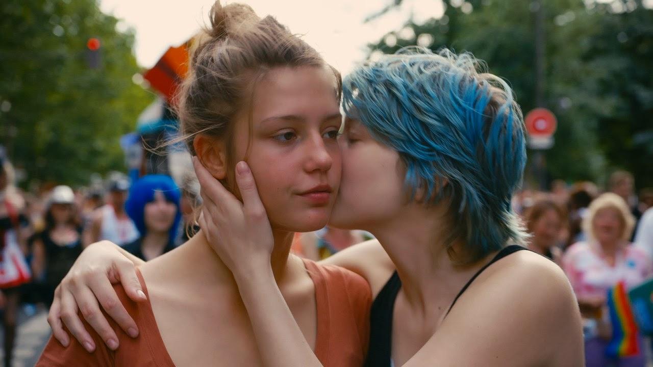 Léa Seydoux and Adèle Exarchopoulos in La vie d'Adèle (2013)
