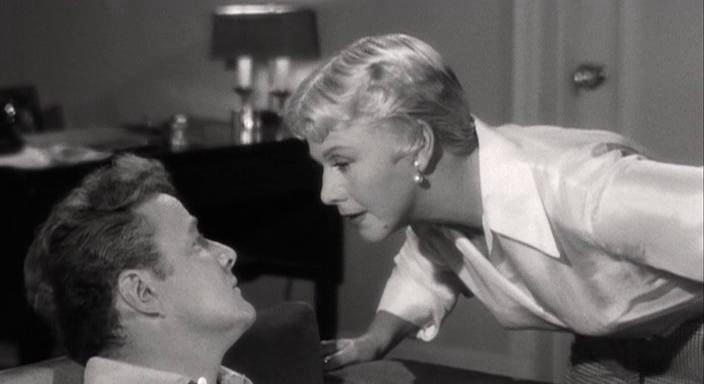 Brian Keith and Ginger Rogers in Tight Spot (1955)
