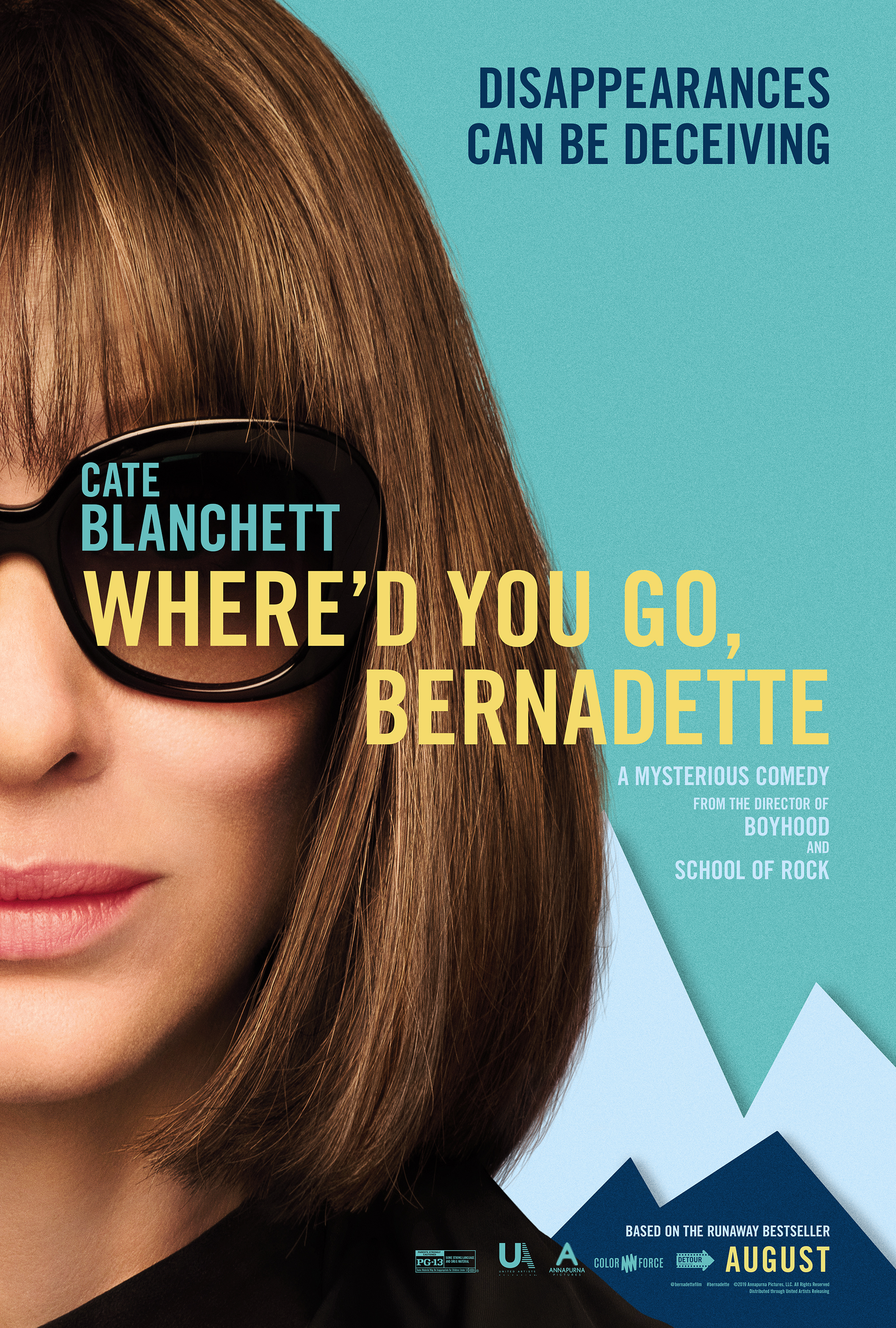Kur tu pradingai, Bernadeta? (2019) / Whered You Go, Bernadette