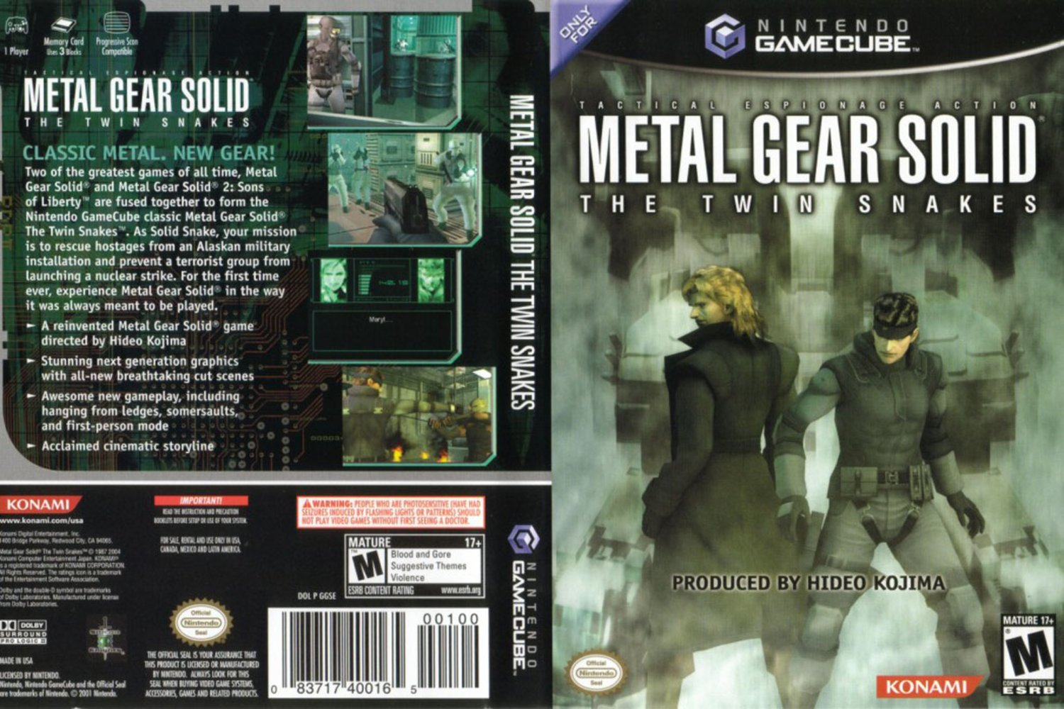 Metal Gear Solid The Twin Snakes 2004
