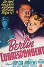 Berlin Correspondent (1942) Poster