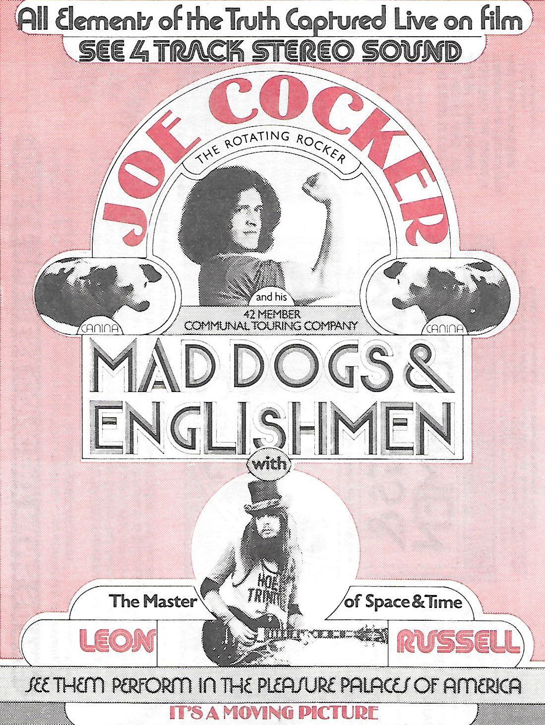 Joe Cocker and Leon Russell in Joe Cocker: Mad Dogs & Englishmen (1971)