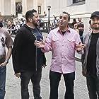 Sal Vulcano, Brian Quinn, James Murray, and Joe Gatto in Impractical Jokers: Inside Jokes (2016)