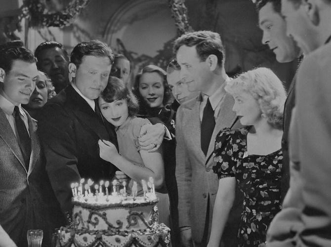 Spencer Tracy, Eddie Quillan, Luise Rainer, Regis Toomey, Alice White, and Guinn 'Big Boy' Williams in Big City (1937)
