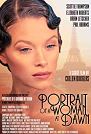 Portrait of a Woman at Dawn Poster