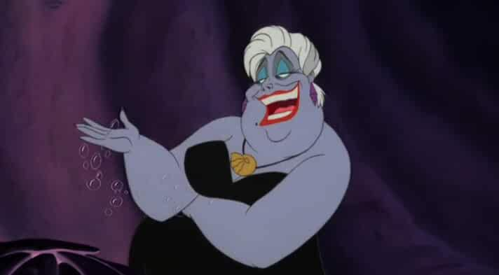Pat Carroll in The Little Mermaid 1989