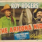 Roy Rogers, George 'Gabby' Hayes, and Trigger in The Arizona Kid (1939)