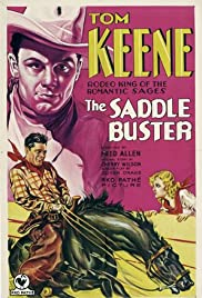 The Saddle Buster Poster