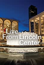 Primary image for Live from Lincoln Center