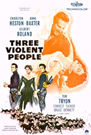 Three Violent People Poster