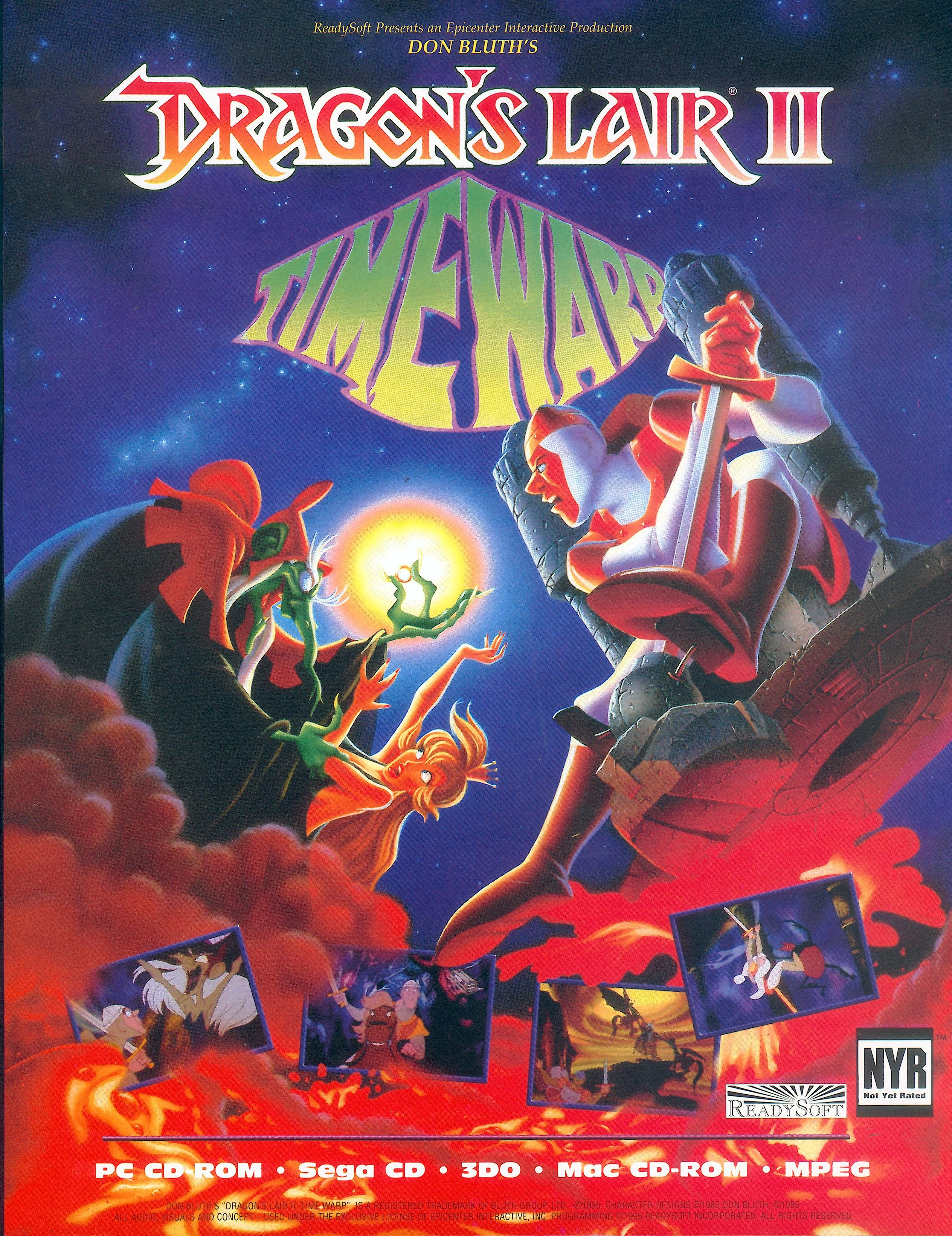 Dragon's Lair II: Timewarp (Video Game 1991) - IMDb