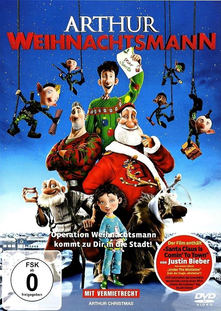 Arthur Christmas Poster.Arthur Christmas 2011