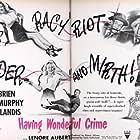 Pat O'Brien, Carole Landis, George Murphy, and Chili Williams in Having Wonderful Crime (1945)