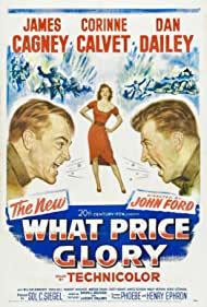 James Cagney, Corinne Calvet, and Dan Dailey in What Price Glory (1952)