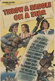 Throw a Saddle on a Star Poster