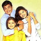 Madhavan, Simran, and Sneha in Paarthale Paravasam (2001)