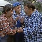Jovan Janicijevic-Burdus, Miodrag Petrovic-Ckalja, and Pavle Vuisic in Kamiondzije opet voze (1984)