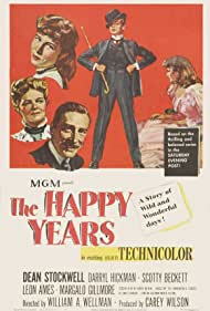 The Happy Years (1950) Poster - Movie Forum, Cast, Reviews
