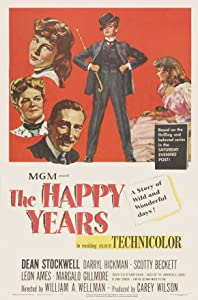 Comedy movies video download The Happy Years by William A. Wellman [2048x2048]