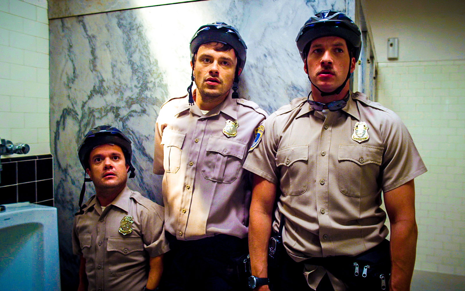 Ryan Hansen, Pancho Moler, and David Barton Harris in Friended to Death (2014)