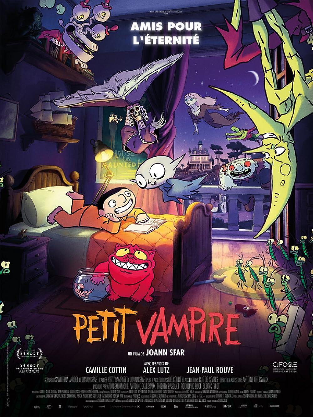 Little Vampire 2020 English 720p HDRip 790MB Download
