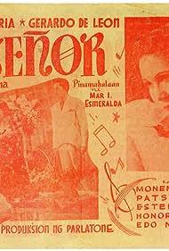Gerardo de Leon, Purita Sta. Maria, and Estela Mari in Ruisenor (1939)