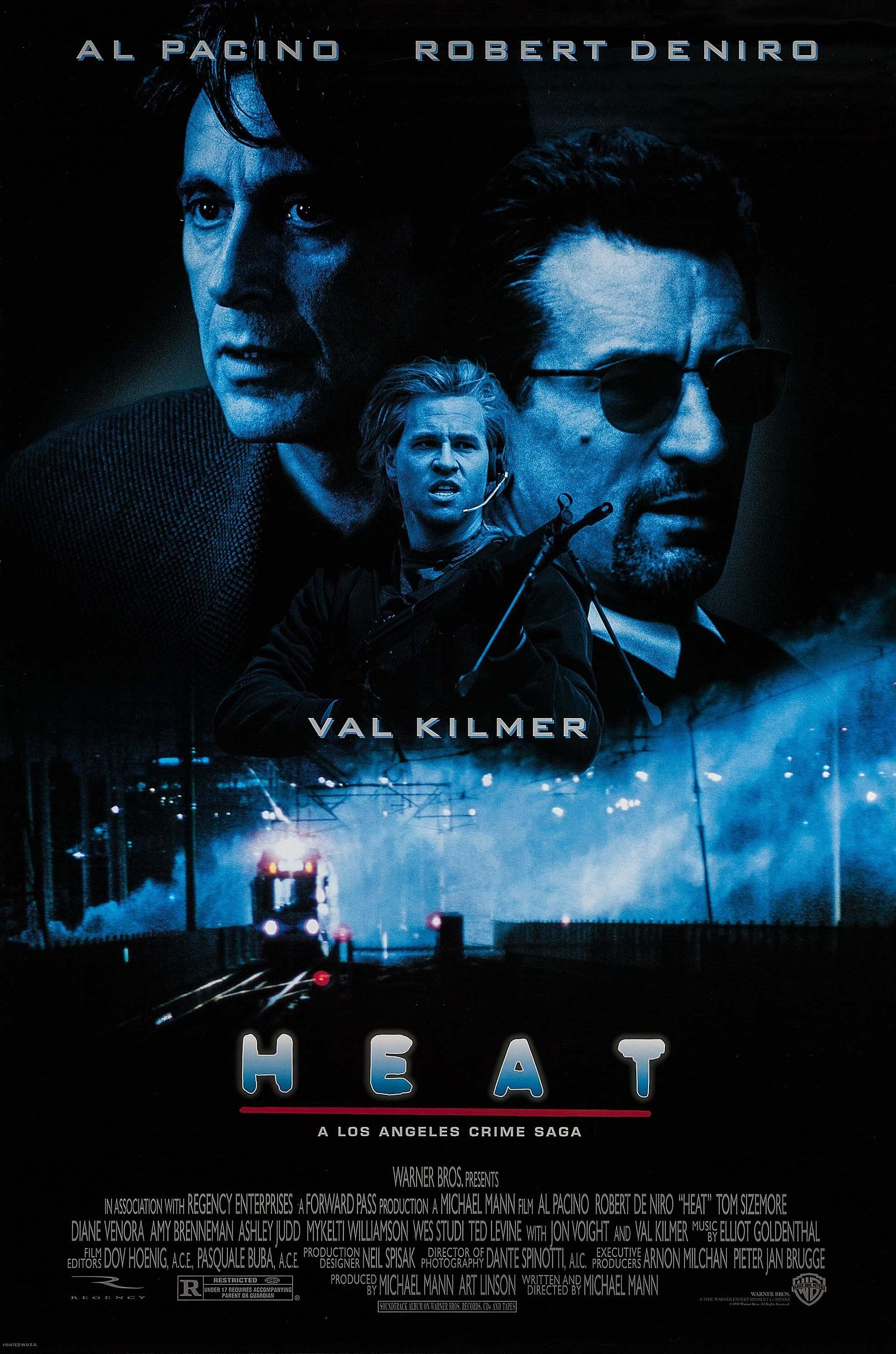 Heat (1995) BluRay 480p, 720p & 1080p