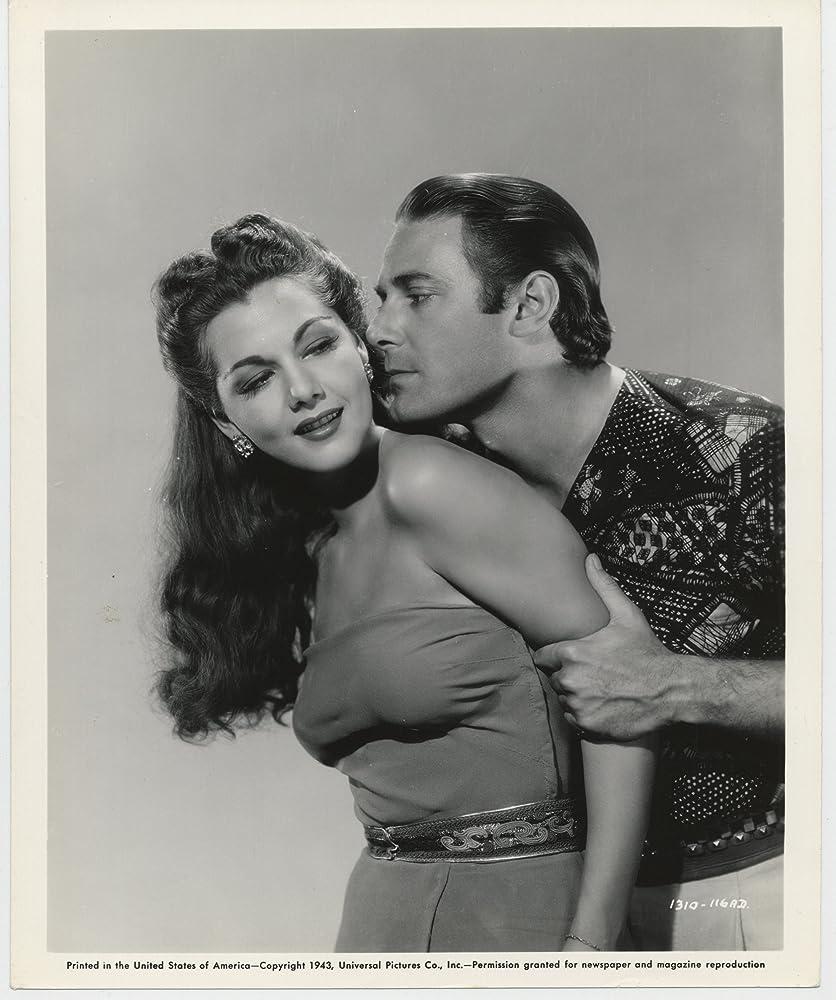 Jon Hall and Maria Montez in Cobra Woman (1944)