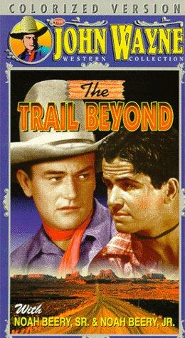 John Wayne and Noah Beery Jr. in The Trail Beyond (1934)