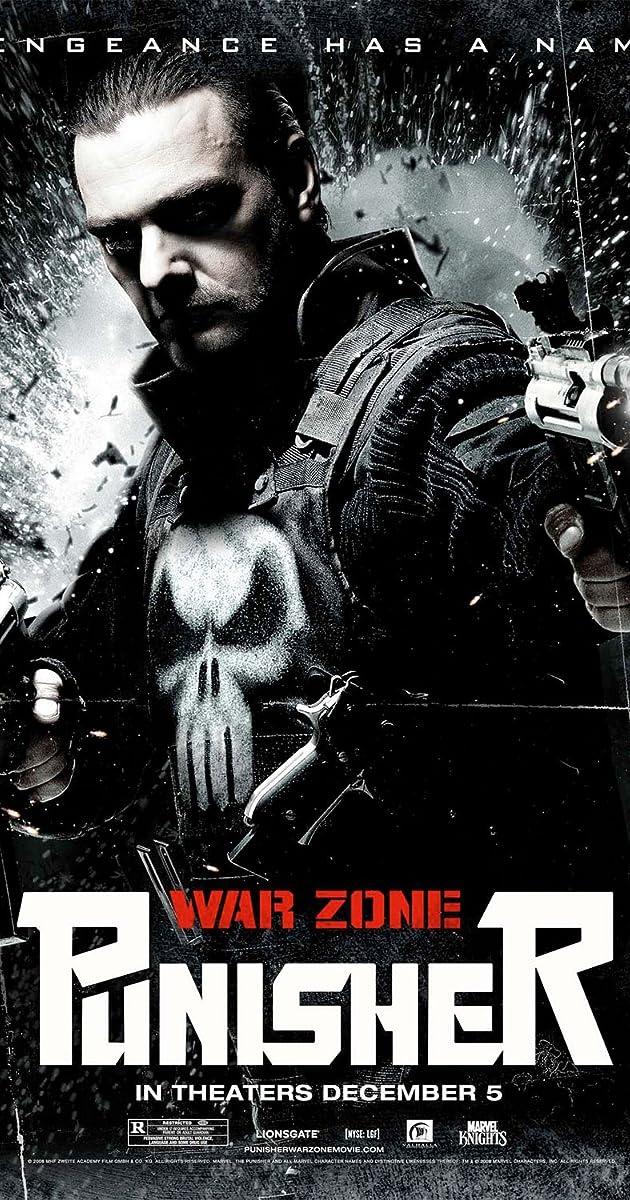Subtitle of Punisher: War Zone