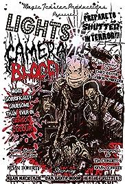 Lights Camera Blood! Poster