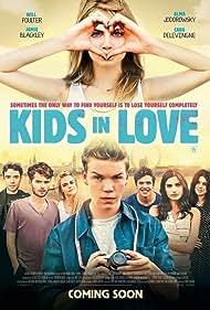 Alma Jodorowsky, Will Poulter, Jamie Blackley, and Cara Delevingne in Kids in Love (2016)