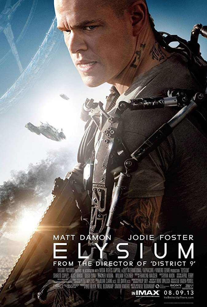 Elysium (2013) Hindi Dubbed