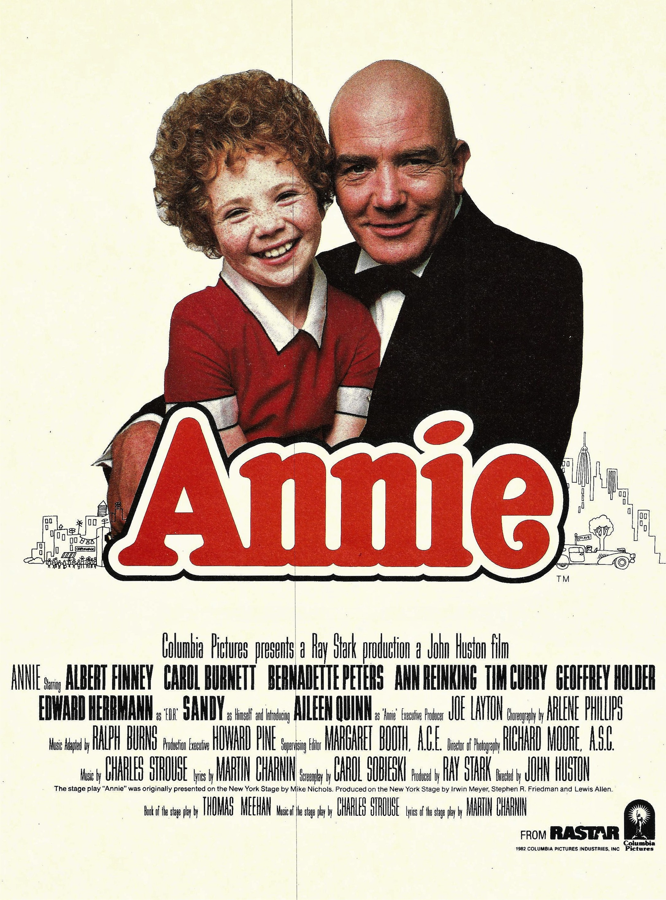 Image result for albert finney annie