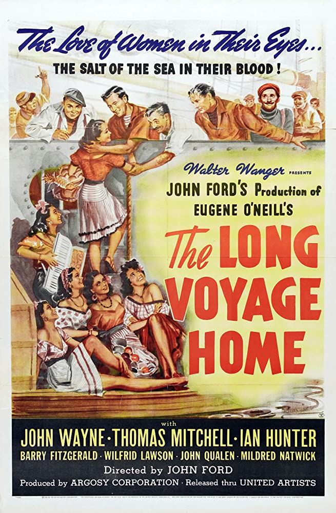 John Wayne and Thomas Mitchell in The Long Voyage Home (1940)