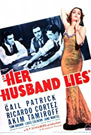 Her Husband Lies Poster