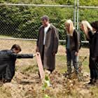 Joshua Jackson, John Noble, Anna Torv, and Georgina Haig in Fringe (2008)