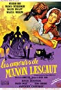 The Lovers of Manon Lescout (1954) Poster