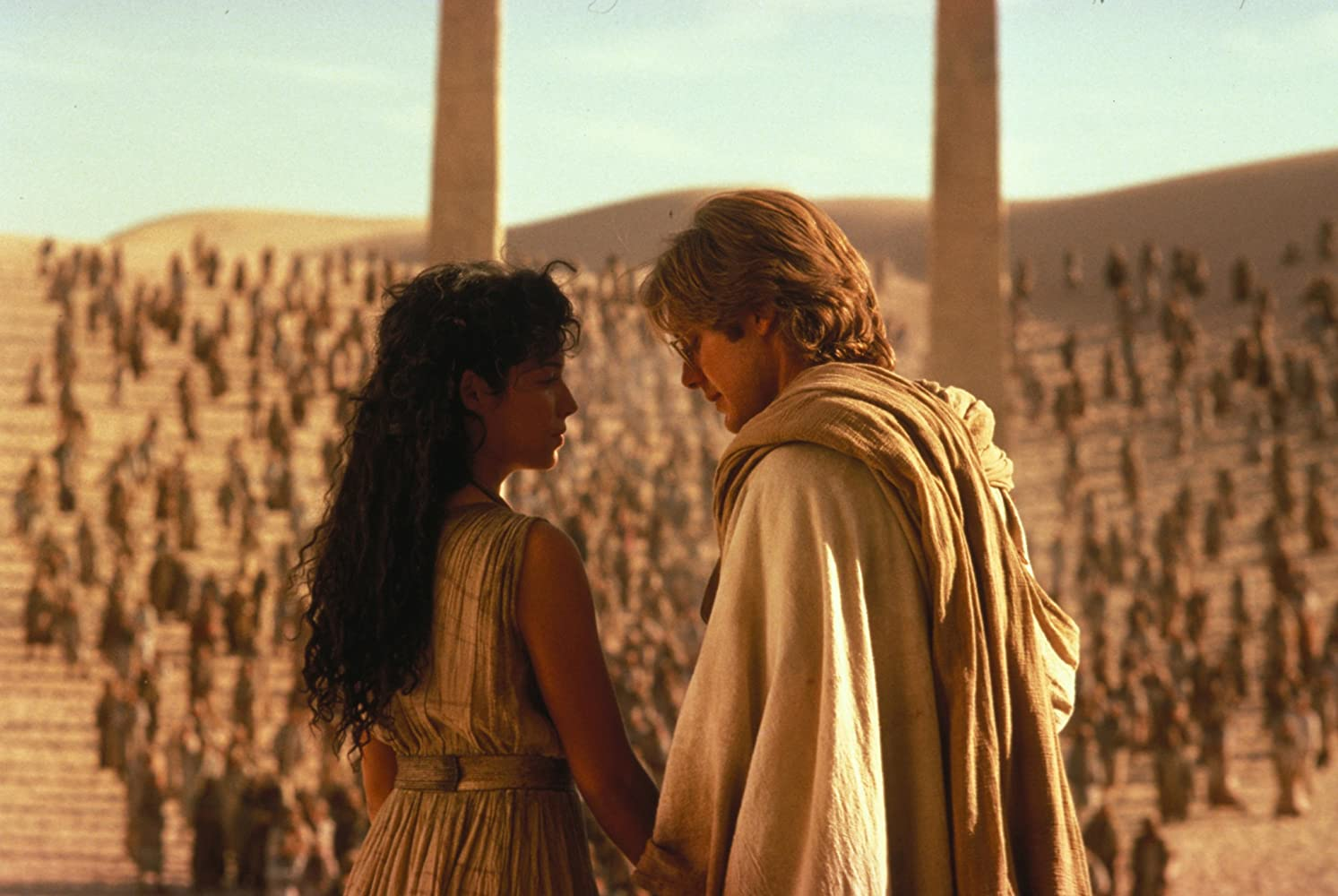 James Spader and Mili Avital in Stargate (1994)