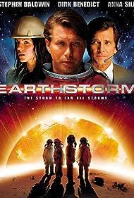 Stephen Baldwin, Dirk Benedict, and Anna Silk in Earthstorm (2006)