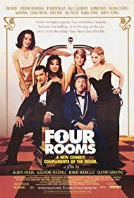 Antonio Banderas, Madonna, Valeria Golino, Tim Roth, Marisa Tomei, and Jennifer Beals in Four Rooms (1995)