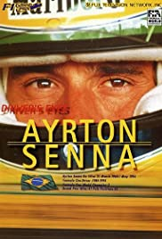 Driver's Eyes Ayrton Senna Poster