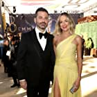 Jimmy Kimmel and Molly McNearney at an event for The 70th Primetime Emmy Awards (2018)