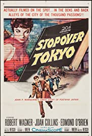 Stopover Tokyo (1957) Poster - Movie Forum, Cast, Reviews