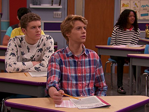Sean Ryan Fox and Jace Norman in Henry Danger (2014)