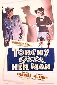 Glenda Farrell and Barton MacLane in Torchy Gets Her Man (1938)