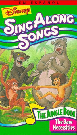 e977df827 Disney Sing-Along-Songs  The Bare Necessities (1987)